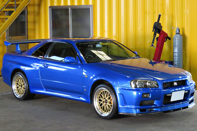 2001 R34 GT-R Right hand drive. US legal 2026 by Toprank Importers