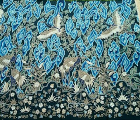 Mengenal Lebih Dekat Keindahan Corak Batik Mega Mendung Cirebon