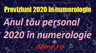 Previziuni 2020 în numerologie | Anul tău personal 2020