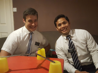 Typical Missionaries, White Shirts, Ties and Smiles!