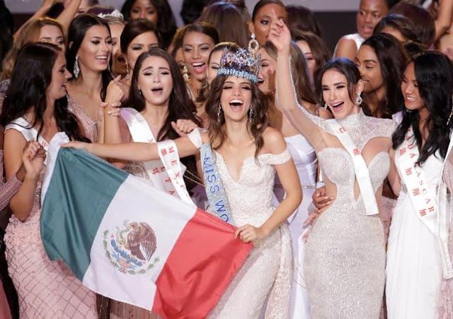 مكسيكية تتوح بلقب ملكة جمال العالم 2018 صور