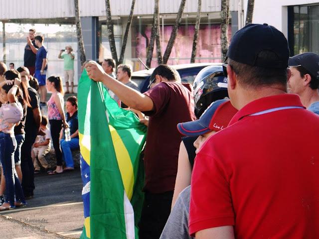 Espirito Santo do Pinhal - Manifestação 27 de maio de 2018