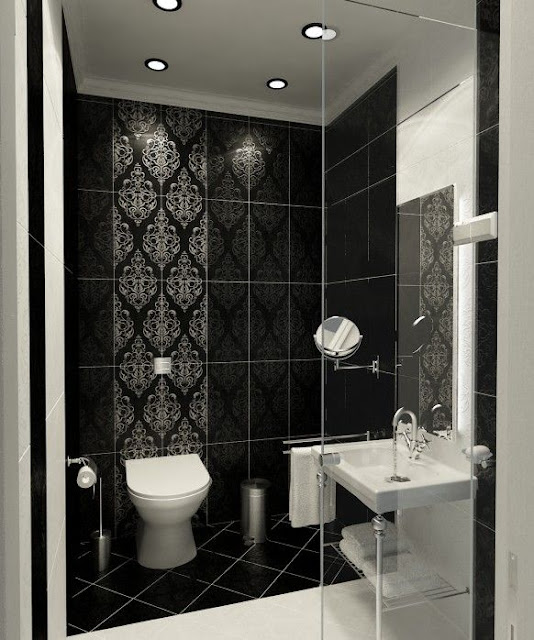 Modern Small Bathroom Design With Shower