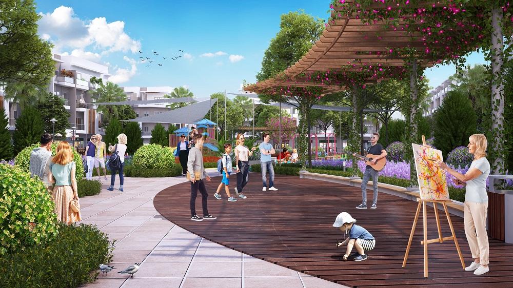 Nhiều hoạt động thể thao sẽ được bố trí trong quần thể khu công viên chủ đề