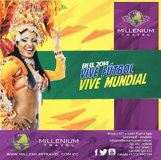 Paquetes de viajes económicos Brasil 2014 desde Ecuador