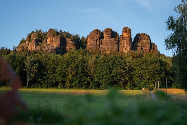 Malerweg Etappe 7 | Von Kurort Gohrisch bis Weißig | Wandern Sächsische Schweiz | Pfaffenstein – Festung Königstein 04
