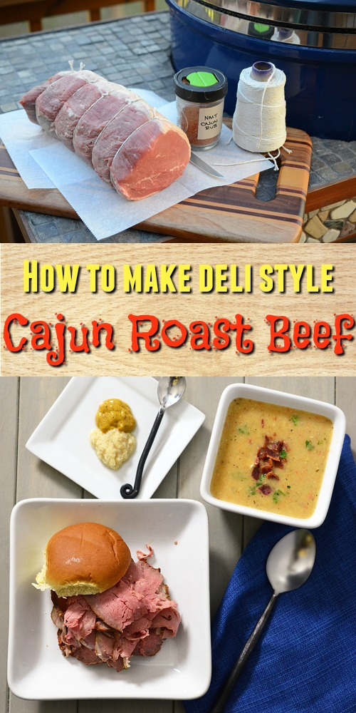 Make your own deli lunch meat with this cajun roast beef recipe