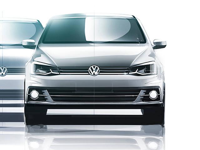 Novo Volkswagen Gol 2017 - frente