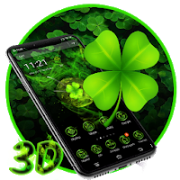 Lucky Clover 3D Launcher Theme Apk free Download for Android