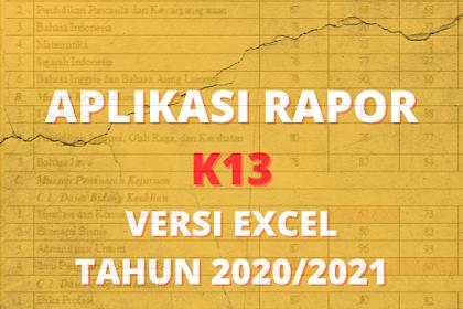 (lengkap) Aplikasi Raport k13 kelas 1-6 Semester 2 Tahun 2021