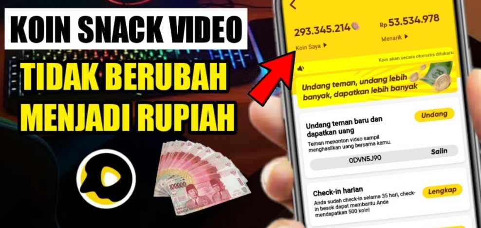 Kenapa Koin Snack Video Tidak Berubah Ke Rupiah