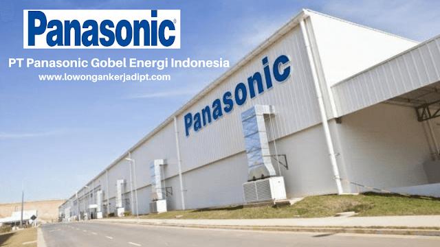 Lowongan Kerja PT Panasonic Gobel Energi Indonesia