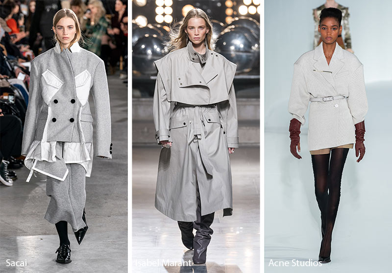Winter Coat Trends 2020.2019 2020 Rudens Ziemos Tendencijos Populiariausios