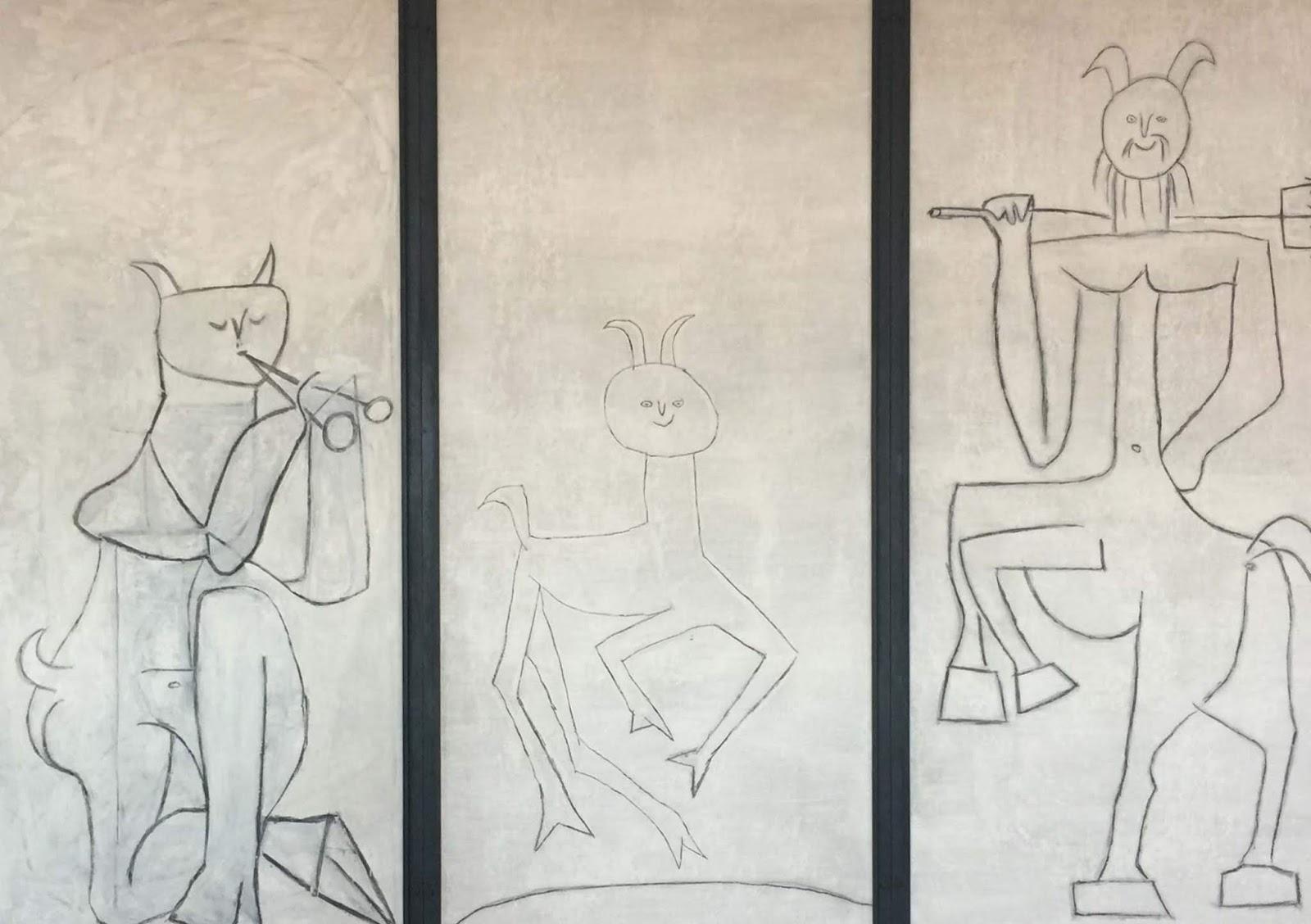 Paloma e Claude figli di Picasso