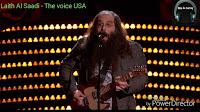 Incredible audition - Laith Al Saadi - The voice USA