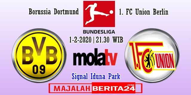 Prediksi Borussia Dortmund vs Union Berlin — 1 Februari 2020