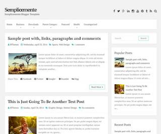 Blogger Themes เหมาะสำหรับสมัคร Adsense