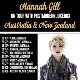 Concert Tour in Australia and New Zealand from 20th of September, 2017 to 3rd of October, 2017 for a chance to see Alternative Pop band Hannah Gill And The Hours live in concert with Post Modern Jukebox