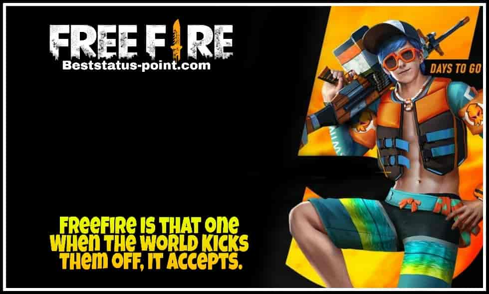 Freefire status and Quotes