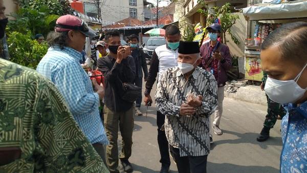 Rabu Siang, Amien Rais Datangi Kediaman Habib Rizieq di Petamburan