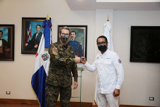 Director Defensa Civil visita al Ministro de Defensa