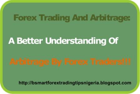 Forex arbitrage between brokers