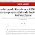 Curso gratuito pré-vestibular no Rio