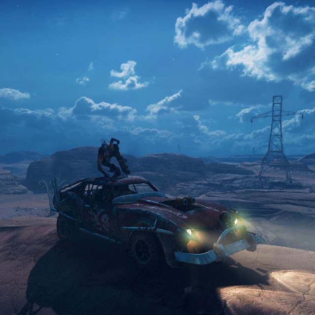 Mad Max PC IG Night Time Short Loop #10 Wallpaper Engine