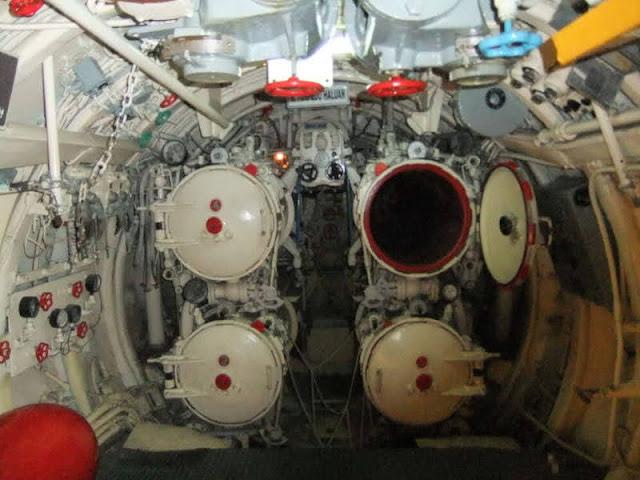 Los tubos de torpedos del submarino  proyecto 613