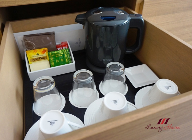 keio plaza hotel tokyo coffee tea making facilities