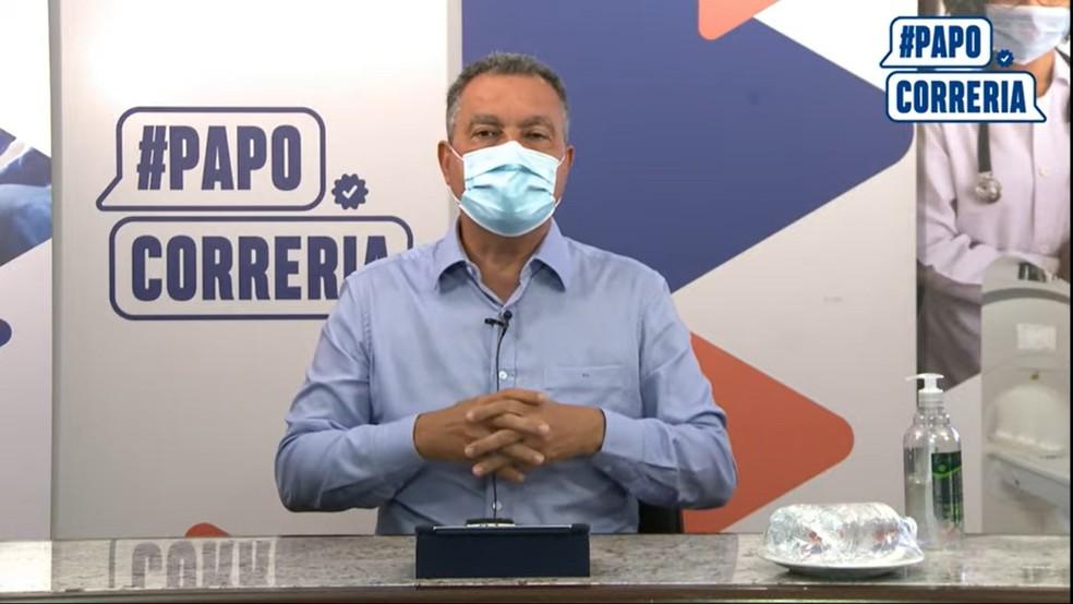 Governador Rui Costa anuncia volta às aulas semipresenciais na Bahia no dia 26 de julho