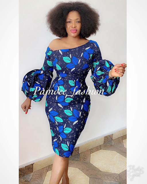 2019 Latest and Beautiful Collections of Ankara Gown Styles