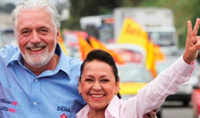 Wagner e Lídice participam de ato em defesa de Lula em Alagoinhas
