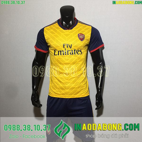 Áo bóng đá câu lạc bộ Arsenal 2020 màu vàng