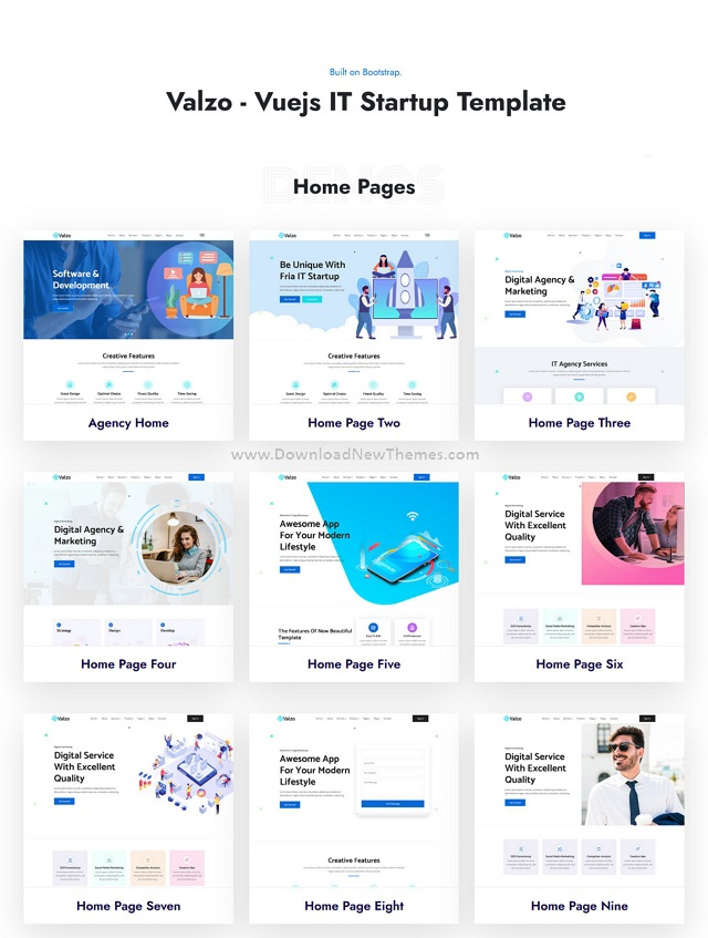 IT Startup Template