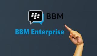 تطبيق BBM Enterprise بي بي ام