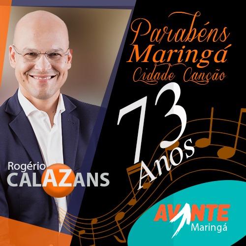 Rogério Calazans - Maringá 73 anos