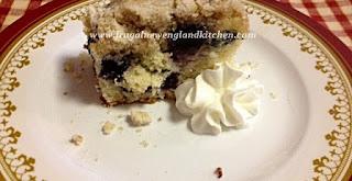 Blueberry Coffee Cake Buckle