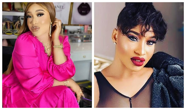 Some Fans needs strong beating with wet broom – Tonto Dikeh reacts to those who insults her On Instagram