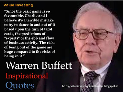 Warren Buffett's Quote Advising Not to Dance In and Out of Investments