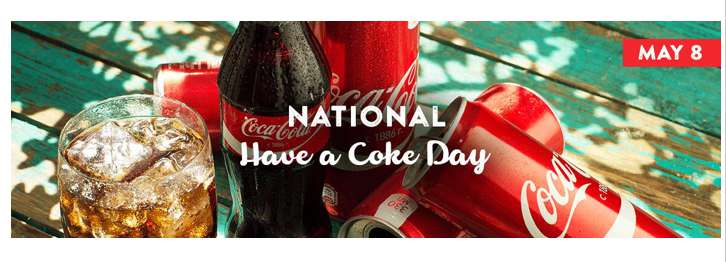 National Have a Coke Day Wishes for Instagram