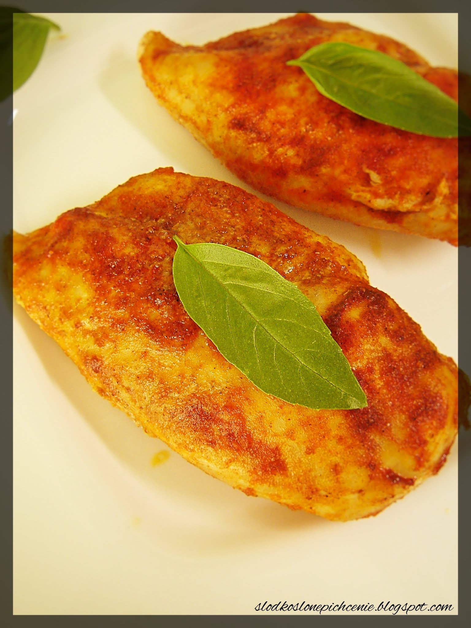 Pierś z kurczaka pieczona w majonezie