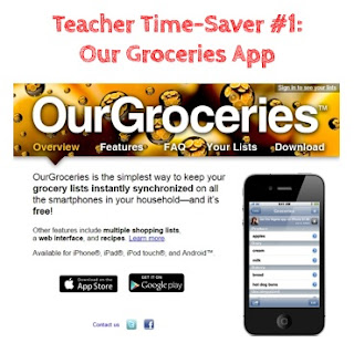 Top Teacher Time-Savers at Home: Our Groceries App