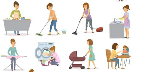 Relax by doing your chores