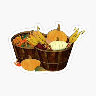 The Splendor of Autumn Sticker
