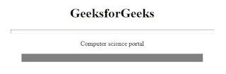 penggunaan noshade hr pada laman html