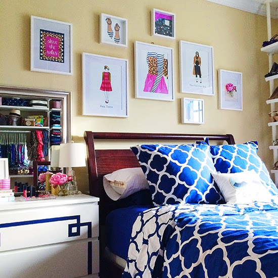 Serenity Now Ikea Shopping Trip And Home Decor Ideas: History In High Heels: Bedroom Gallery Wall