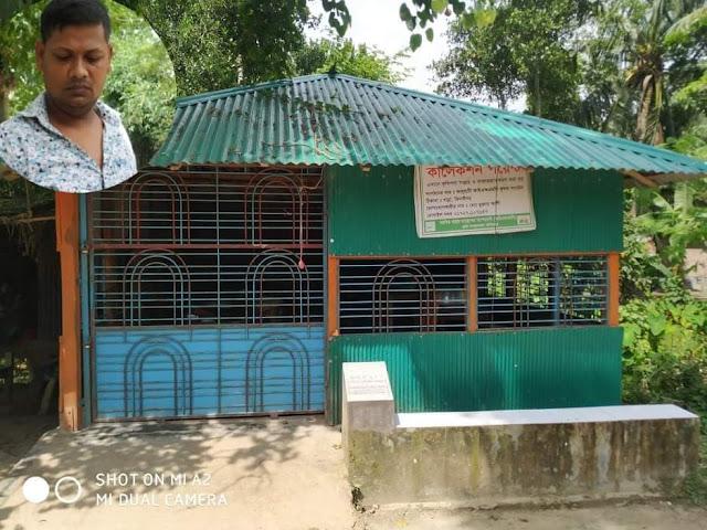 কৃষকদের সরকারি বরাদ্দকৃত ঘর,ব্যাক্তিস্বার্থে খাবার হোটেল হিসেবে ভাড়ায় দেওয়ার অভিযোগ