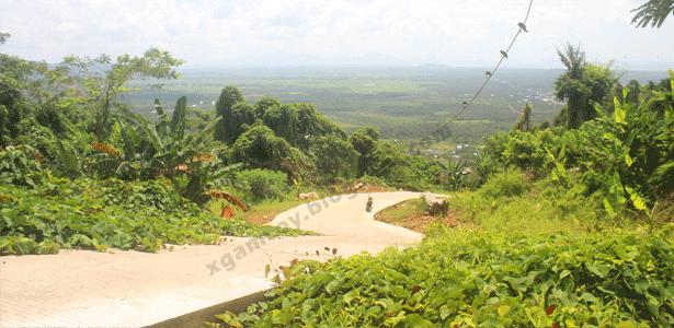 Jalan gunung gajah