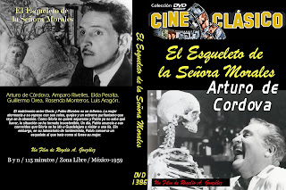 Carátula: El esqueleto de la señora Morales